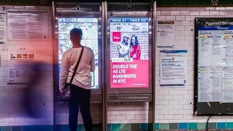 Expansion plans have On The Go digital signage kiosks on the move in NYC Subway   digital signage   Scoop.it