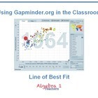 Gapminder: Line of Best Fit - Jeanette Stein | Understandingcommoncorestatestandards | Scoop.it