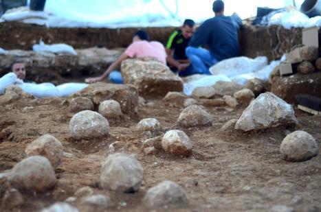Hallan en Jerusalén restos de artillería de la Primera Guerra Judeo-Romana | LVDVS CHIRONIS 3.0 | Scoop.it