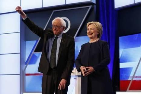 Hillary Clinton, Bernie Sanders Spar Over Immigration | American Politics | Scoop.it