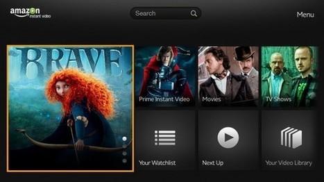 Amazon Instant Video app hits Google TV - SlashGear   Social TV Nieuws   Scoop.it
