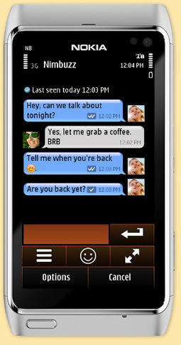 Nimbuzz Introducing New Free SMS notifications Service (Nimbuzz Ping!) | Nokia, Symbian and WP 8 | Scoop.it