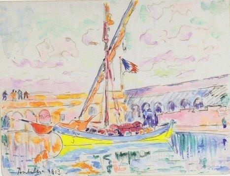 Signac au fil de l'eau - La Règle du Jeu | Impressionnisme | Scoop.it