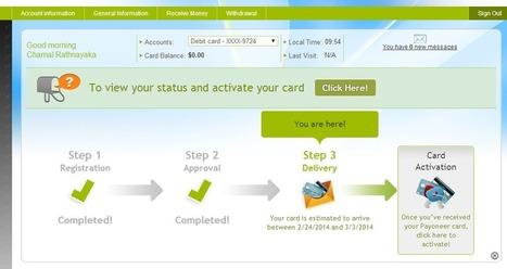 Get FREE Payoneer Master Debit card with $25 Bonus - Pro Blog Tricks | Social Media | Scoop.it