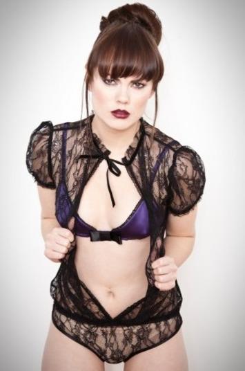 Sexy Black Lace Lingerie by Kriss Soonik | Lingerie Love | Scoop.it