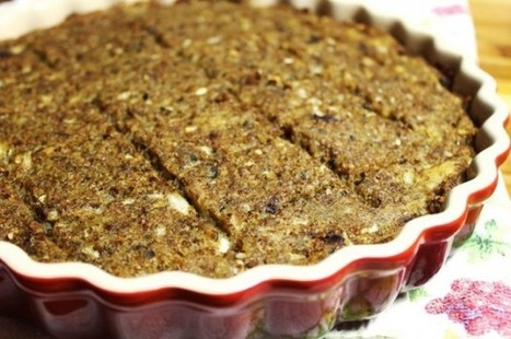 Segunda Sem Carne: Aprenda a fazer um quibe de berinjela | Palpi Kitchen & Home | Scoop.it
