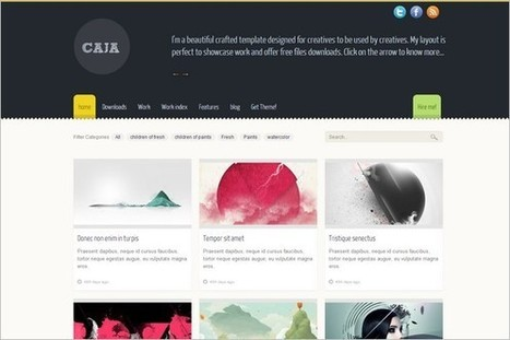 25 Best Free WordPress Themes – October 2012   WP Daily Themes   Free & Premium WordPress Themes   Scoop.it