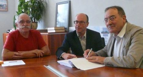 Signature de contrat avec GRDF pour le gaz naturel à Barbazan-Debat (65) (ladepeche.fr - 09/10/2015) | Reseau Gaz | Scoop.it