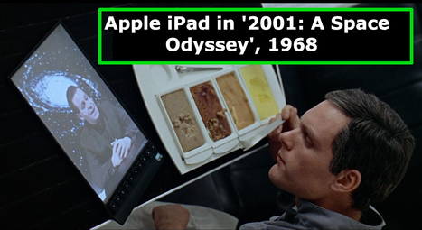 Stanley Kubrick Predicted the iPad in 1968 SciFi Movie | somethings to think about | Scoop.it