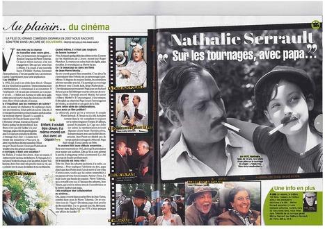 Télé Loisirs - interview de Nathalie Serrault   Nathalie Serrault   Scoop.it