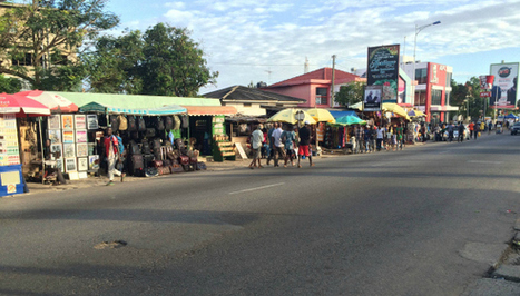 """How a new kind of """"modern"""" urban development can include street vendors 