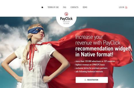 Payclick Review : Online Native Advertising Network | Website | Scoop.it