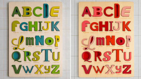 Gorgeous Typography Puzzles Will Teach Kids the Dangers of Comic Sans - Gizmodo | Inspiring Typography | Scoop.it