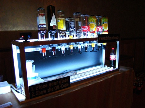 Arduino Blog » Blog Archive » Social Drink Machine (powered with Arduino) | Open Source Hardware News | Scoop.it