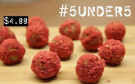 #5under5: Strawberry Lemonade Meltaway Bites [Vegan, Gluten-Free, No-Bake] | My Vegan recipes | Scoop.it