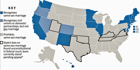 Same-Sex Marriage Laws [MAP] - Business Insider | Gay marriage | Scoop.it