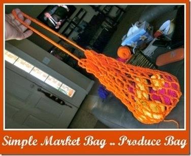 Tracy's Crochet Bliss: Simple Market Bag / Produce Bag—FREE PATTERN | CrochetHappy | Scoop.it
