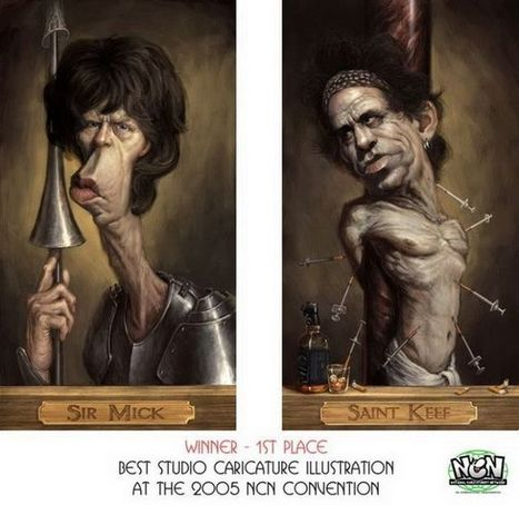 Caricatures of famous people (30 photos) - Izismile.com | Caricatures | Scoop.it