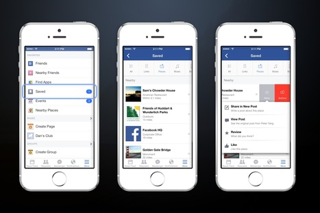 Facebook Save -- A New Read-It-Later Option For Facebook Posts & Pages | Digital Marketing, Search Engine Optimization, Social Media & Web Development | Scoop.it