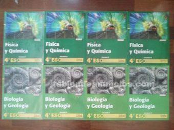 Libros 4º eso fisica y quimica y biologia | Ciencias | Scoop.it