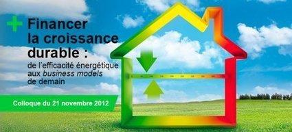 Financer la croissance durable, de l'efficacité énergétique aux business models de demain   Economie Responsable et Consommation Collaborative   Scoop.it