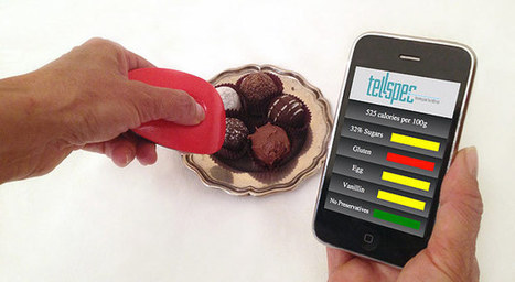 TellSpec identifies food ingredients and calories using science, magic | healthcare technology | Scoop.it