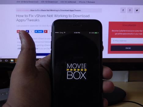 Download MovieBox for iOS 10 / 10.0.2 / 10.1 Without Jailbreak | Cydia Tweaks & Jailbreak News | Scoop.it