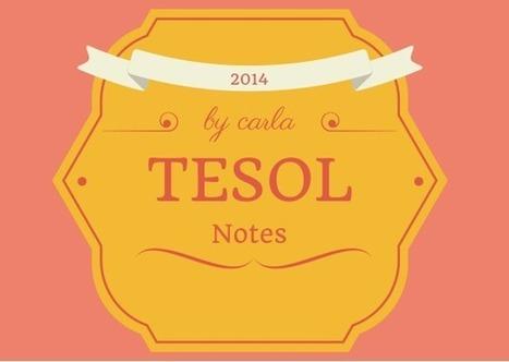 TESOL 2014 – Snapshots | carlaarena.com | APRENDIZAJE | Scoop.it