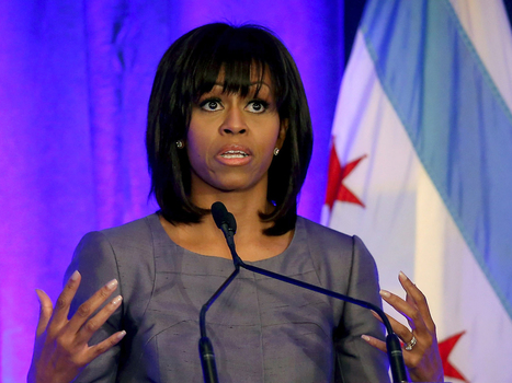 A tearful Michelle Obama: 'Hadiya Pendleton was me, and I was her' — MSNBC | Building Community | Scoop.it