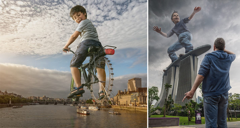 Dad Creates Crazy Images With Son Using His Expert Photoshop Skills | DigitalSynopsis.com | Scoop.it