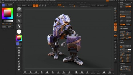 ZBrush 4R2 disponible !! | PolySculpt | Infographie 3D | Scoop.it