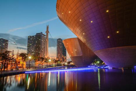 #MaddyKeynote : Songdo, la smart city sud coréenne 100% connectée - Maddyness   Prévention et Signalisation Routière   Scoop.it