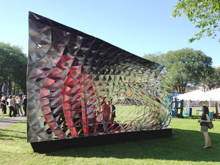 Yale Assembly Pavilion | News | Archinect | Parametric Architecture and Design | Scoop.it