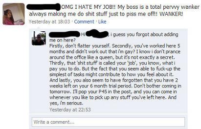 6 consigli per non perdere il posto di lavoro a causa di Facebook | SEO ADDICTED!!! | Scoop.it