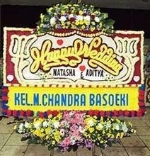 Bunga Papan Pernikahan InterContinental Jakarta Midplaza | Ucapan Bunga Papan | Scoop.it