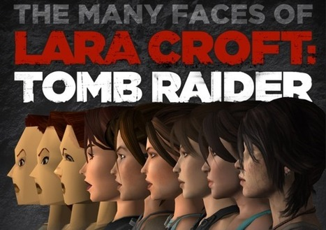 How 'Tomb Raider' Star Lara Croft Has Evolved Since 1996 | The_storyFormula: story worlds & wearables! | Scoop.it