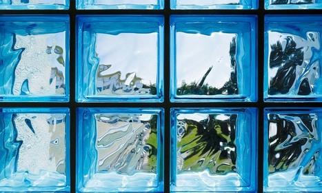 Pose de briques de verre   Travaux Intérieurs   Scoop.it