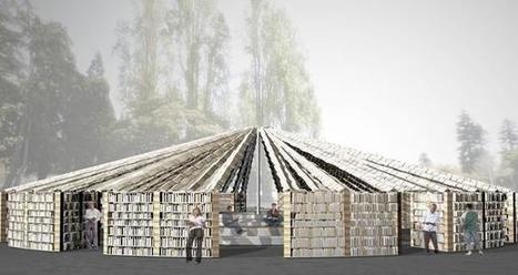 Festival to Premiere Library Made Entirely of Books | Librarysoul | Scoop.it