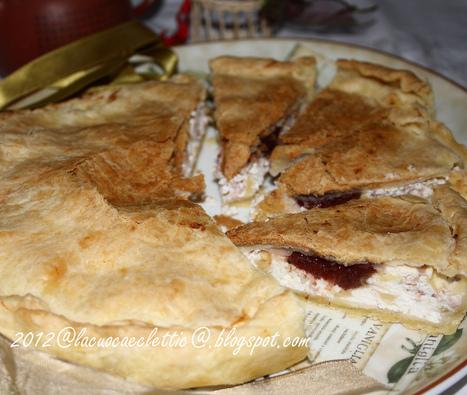 Torta salata con ricotta, prosciutto cotto, emmentaler e….confettura di corniola! | Ricette di cucina interessanti | Scoop.it