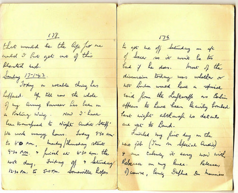 London War Diary: Sunday 17th January 1942 (1)   London War Diary. Original written pages. 1940   Scoop.it