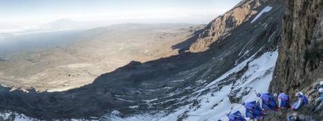 Wingsuit depuis le Kilimandjaro avec Valery Rozov : Vidéo en caméra embarquée | Neige et Granite | Scoop.it
