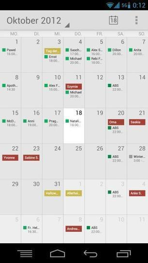 Galaxy Nexus Gets Google Calender Text View from Nexus 7 – xda-developers | WEBOLUTION! | Scoop.it
