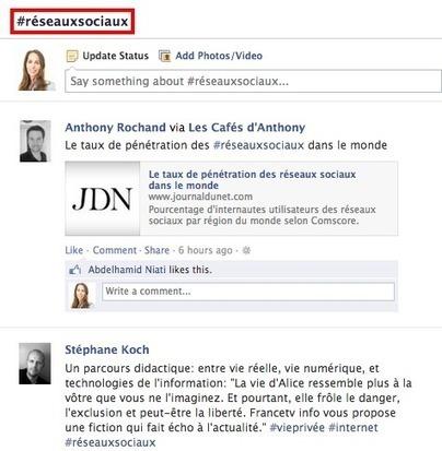 9 conseils pour bien utiliser les hashtags sur Facebook   Réseaux Sociaux et Web : Nouvelles   Scoop.it