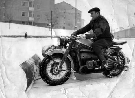 ZÜNDAPP SNOW PLOW | Vintage Motorbikes | Scoop.it