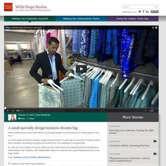 Wells Fargo launching into brand journalism with 'Wells Fargo Stories' - Charlotte Business Journal   Public Relations and Journalism   Scoop.it