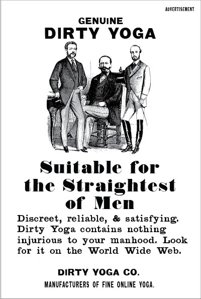 Group Support For Men Who Do Yoga - Dirty Yoga | Dirty Yoga | Scoop.it