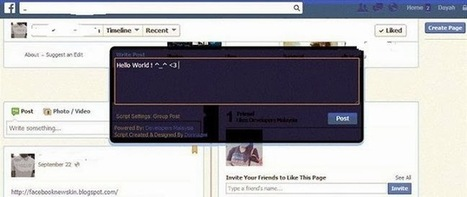 How To Auto Post All Friends Timeline wall in one click on Facebook 2014 « New Facebook Tips Tricks | Rajasthan Tourism | Scoop.it