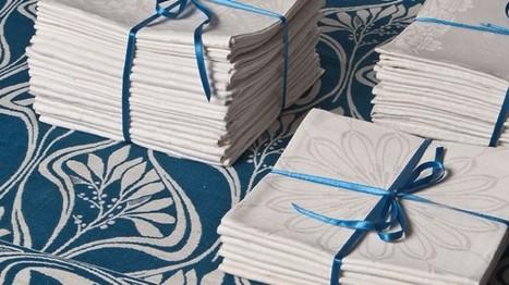 Tentoonstelling Art Nouveau damast | Lekkers & Moois | TextielMuseum | Scoop.it
