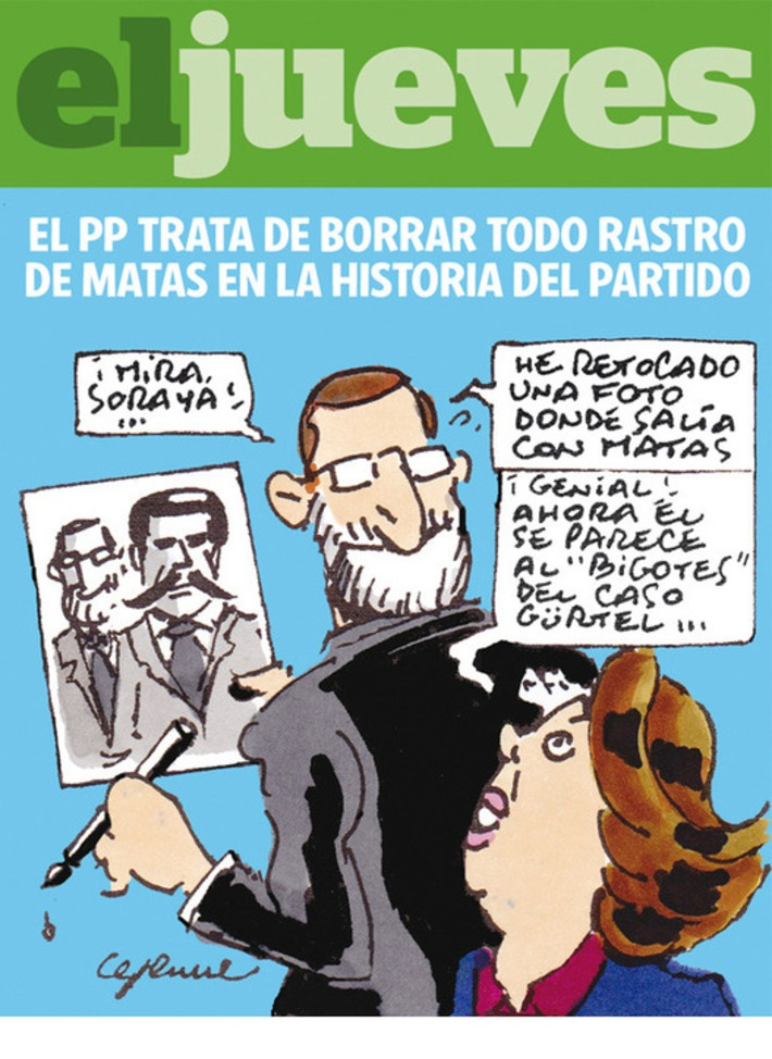 El PP trata de borrar todo rastro de Matas en la historia del partido · eljueves.es · Actualidad | Partido Popular, una visión crítica | Scoop.it