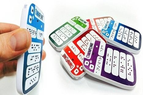 Un premier téléphone braille commercialisé | Vous avez dit Innovation ? | Scoop.it